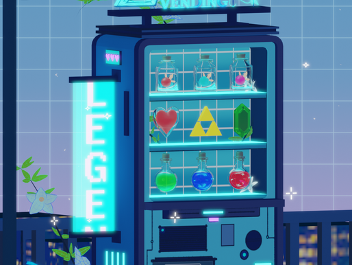 2D to 3D Zelda Vending Machine
