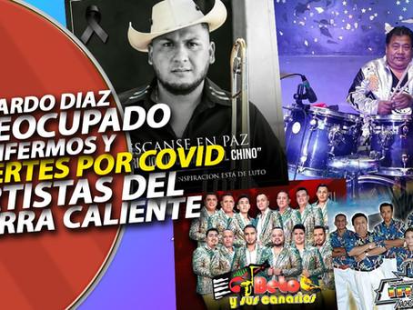 CONFIRMA MUERTES por COVID-19 artistas del Regional Mexicano, Gerardo Díaz ¡PIDE UNIDAD PARA CREER!
