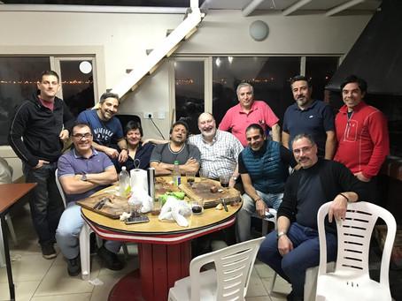 Cena organizada por socios en el Club Náutico.