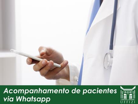Acompanhamento de pacientes via Whatsapp
