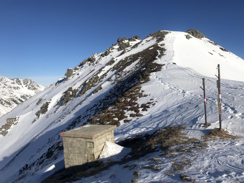 Moelser Scharte, Skitour Moelserberg