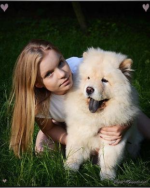 Puppy with Paulina
