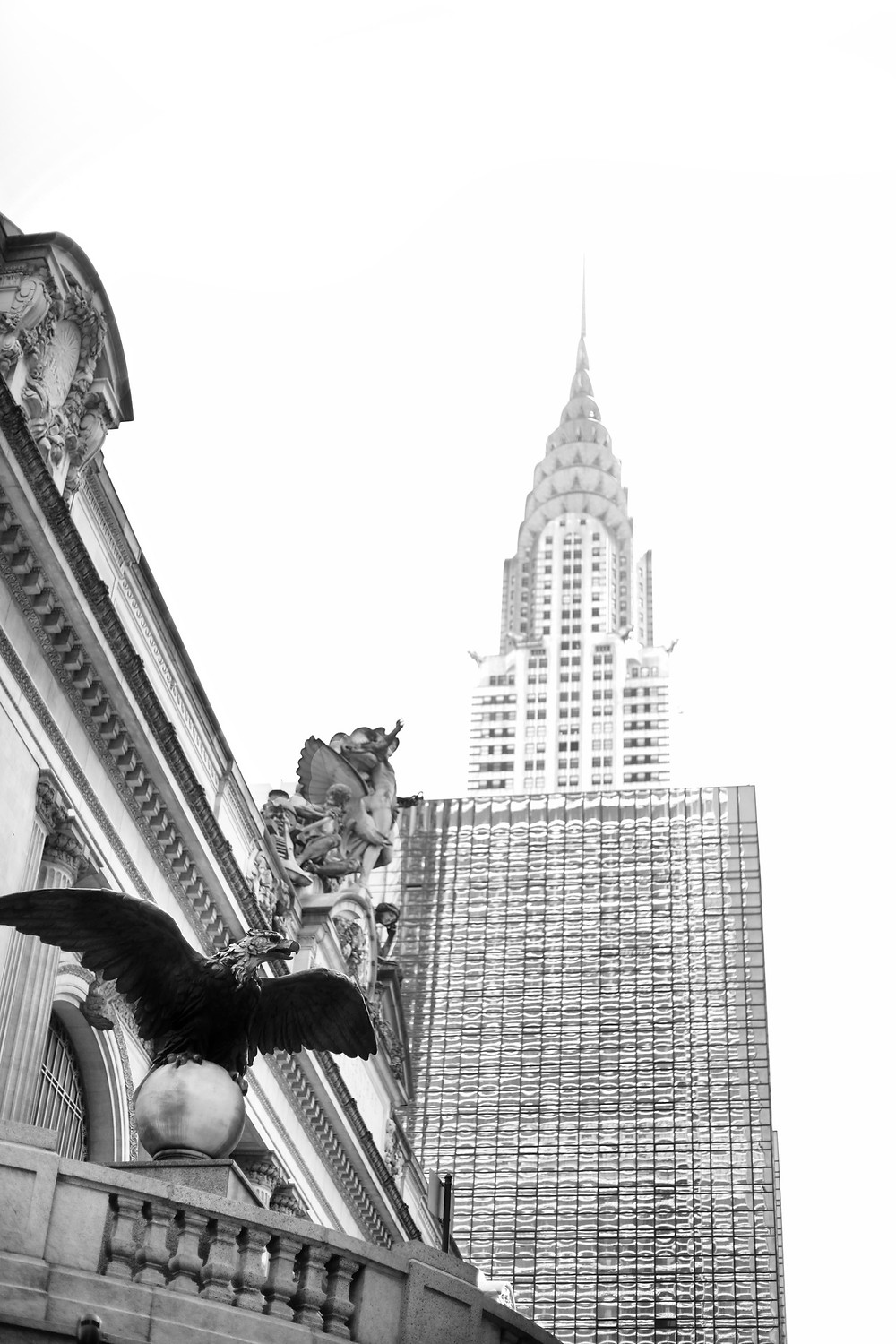 Grand Central Station and Chrysler building photo