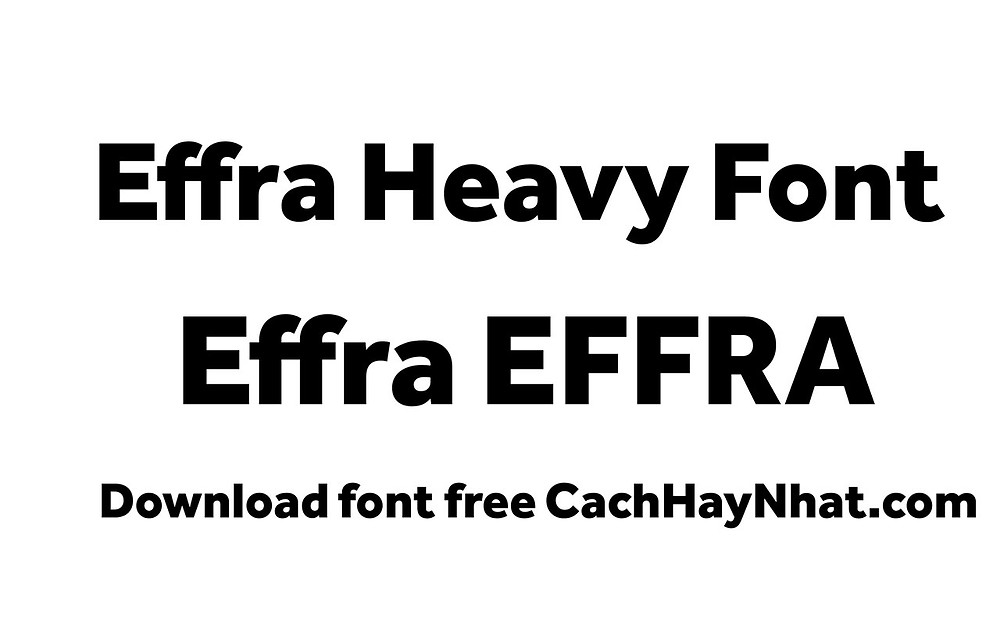 font effra heavy