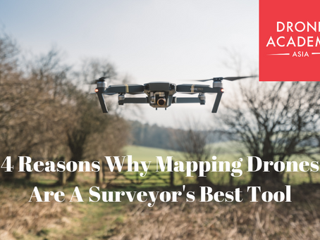 4 Reasons Why Mapping Drones Are A Surveyor's Best Tool