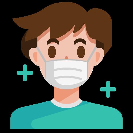 5929232 - avatar face man mask sick