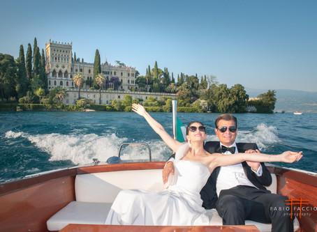 Servizio fotografico matrimonio sul'Isola del Garda