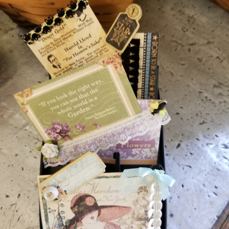 DIY: Altered Rolodex Cards