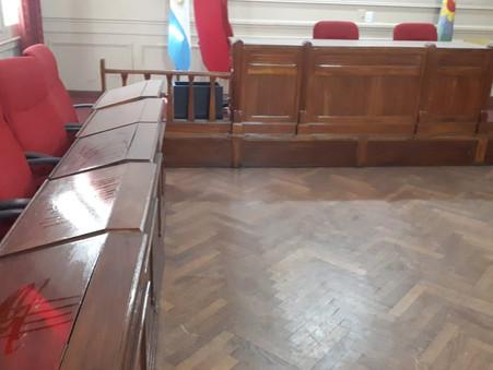Denuncian que hubo órdenes de no limpiar las instalaciones del Concejo Deliberante