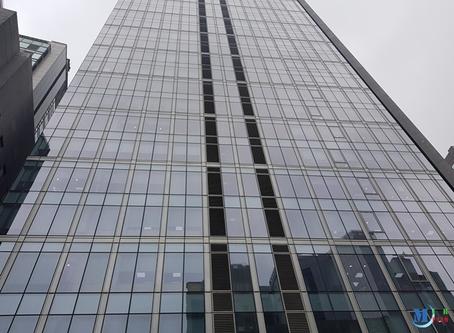 남산 스테이트 타워 #단열필름