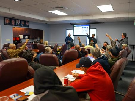 KPM Franklin Survey Crews Complete OSHA 10 Certification Training