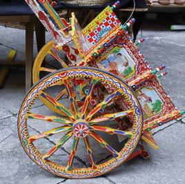 El Carretto Siciliano. Medio de transporte y arte