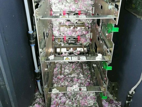 ¡A que no te la crees! Una rata entró a un cajero bancario y se comió $5000 pesos