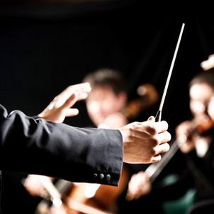 Con l'Orchestra della RAI