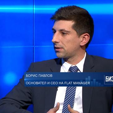 Борис Павлов в Bloomberg TV