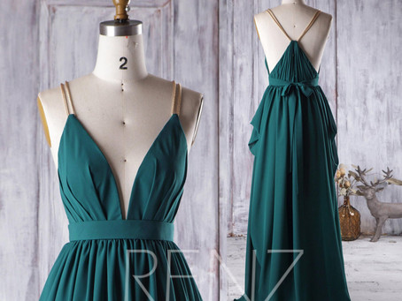 10+ Forest Green Bridesmaid Dresses that Your Girl Tribe Will Say Yes To!