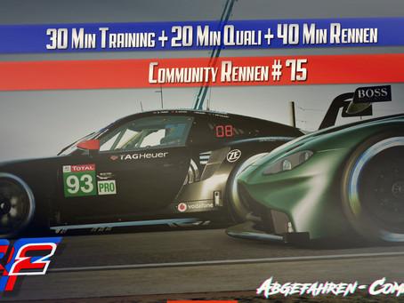 rF2-CR 75 | GTE @ Portland International Raceway