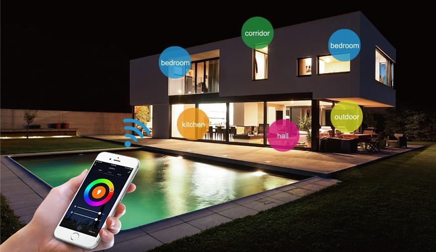 4 zonas de sua casa perfeitas para aplicar Iluminação Inteligente