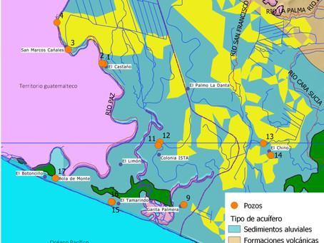 Prospection hydrogéologique en Ahuachapan