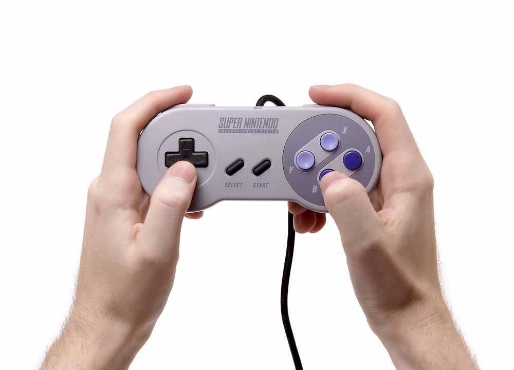 The Super Nintendo joypad
