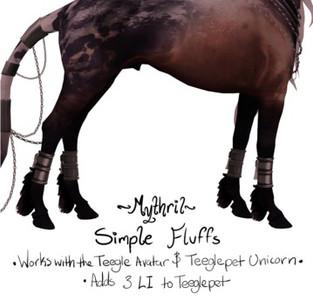 *~Mythril~* Simple Fluffs (Unicorn)