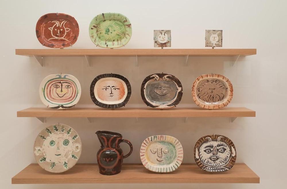 Cerâmicas de Picasso (Foto: Hakone Museum website)