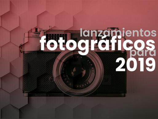 Lanzamientos fotográficos para 2019