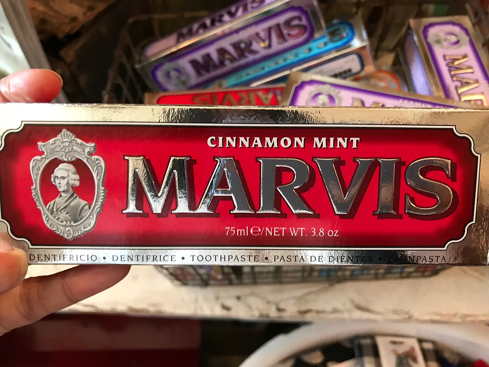 Cinnamon mint Marvis toothpaste can cause allergic reactions