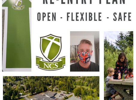September 2020 re-entry plan: School is open, flexible & safe
