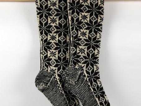Finishing your Selbu Socks!