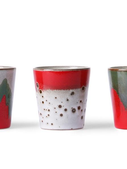 THE CHRISTMAS T(H)REE / ceramic 70s mugs / HKliving