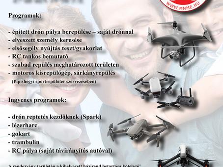 Drónos Családi Nap - 2019.08.03 - Pipishegy