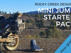 Rocky Creek Designs mini jump starter - tested!