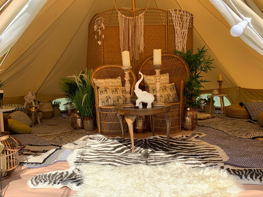 Welcome to Glamping not Camping