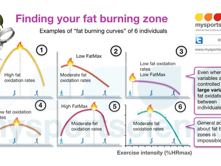 Finding your fat burning zone