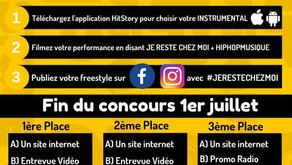 HIPHOPMUSIQUE.COM PRÉSENTE LE CONCOURS -JE RESTE CHEZ MOI-