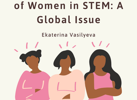 Underrepresentation of Women in STEM is a Global Issue– Ekaterina Vasilyeva