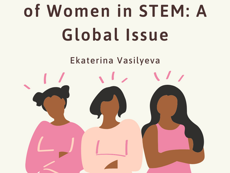 Underrepresentation of Women in STEM is a Global Issue – Ekaterina Vasilyeva