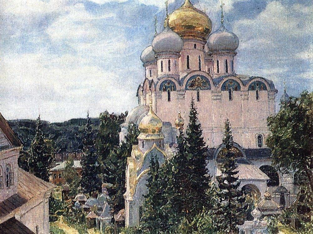 Новодевичий монастырь. Собор (1926 год)