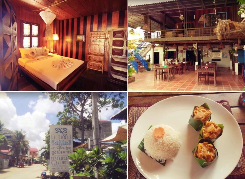 Hotel Kratie Cambodge