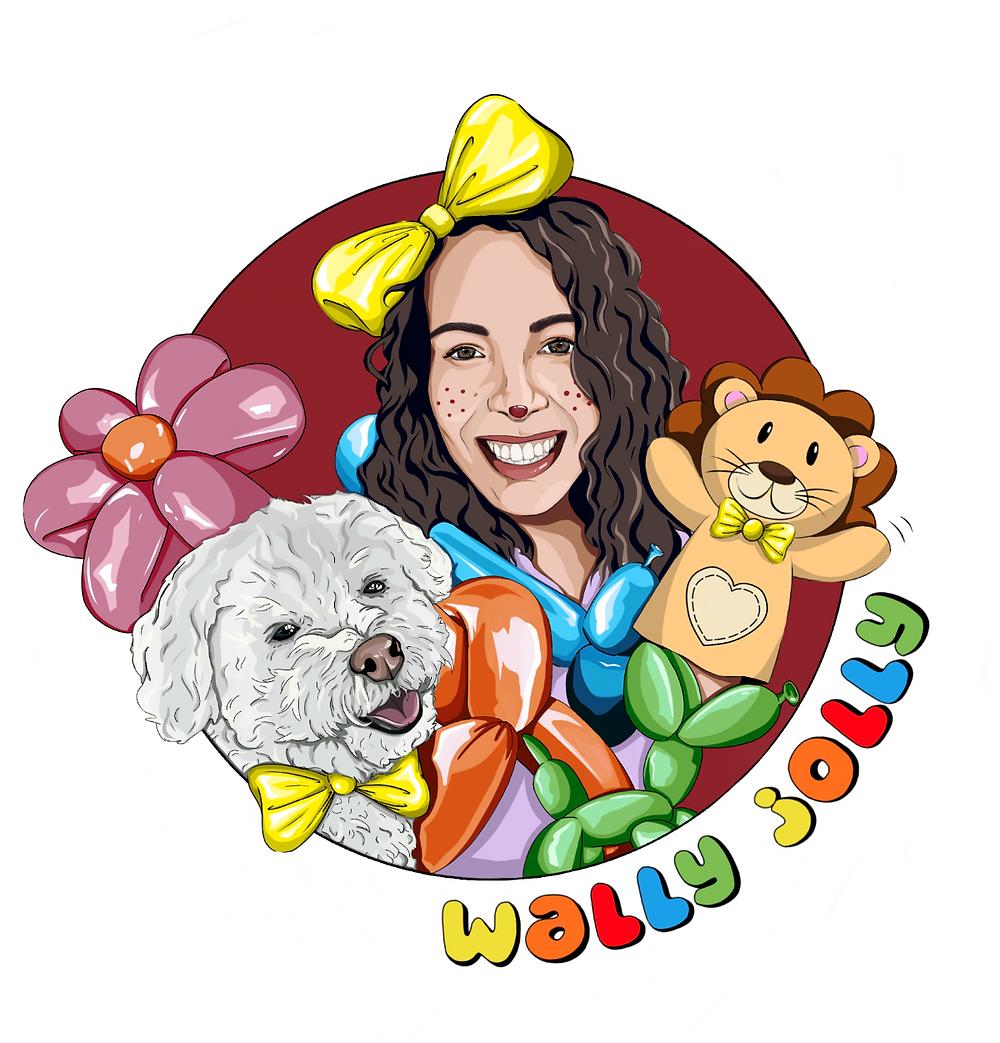 Wally Jolly Logo, kids parties in malta, kids events in malta