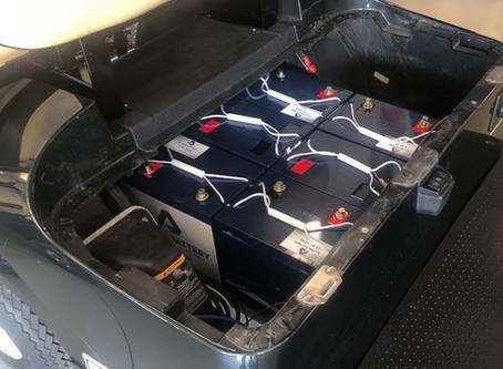Golf Cart Batteries in Stock