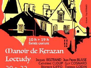 Loctudy - 7ème salon de Gravure aux journées du patrimoine des 20, 21 et 22 septembre 2020