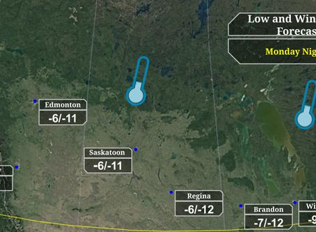 Cold to persist through next week for Prairies