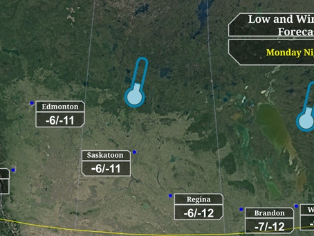 Cold to persist through next week for Prairies