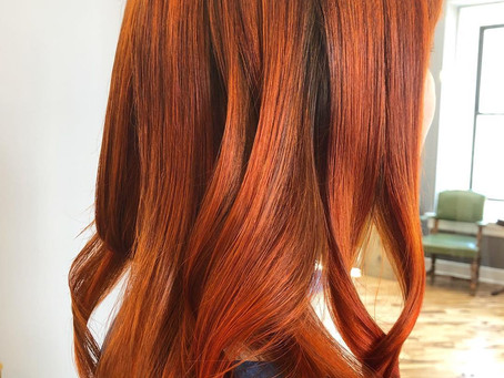 Achieve your best Fall Haircolor
