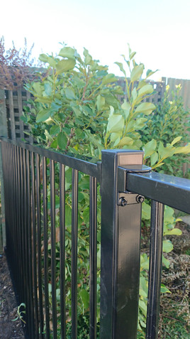 Guardian Perimeter Fence panel and post.