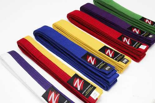 Z Sportswear full color belts