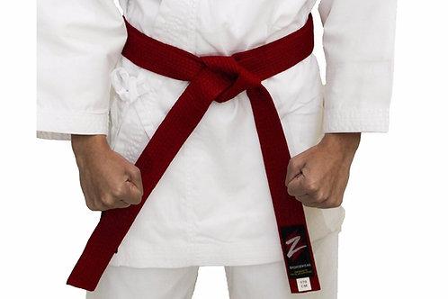 Z Sportswear competition belts - red & blue set