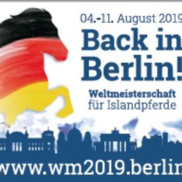 Weltmeisterschaft der Islandpferde Berlin